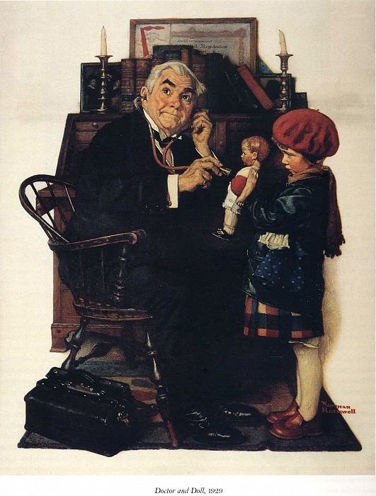 Image 436. Norman Rockwell