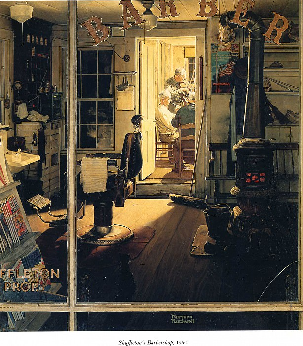 Image 367. Norman Rockwell
