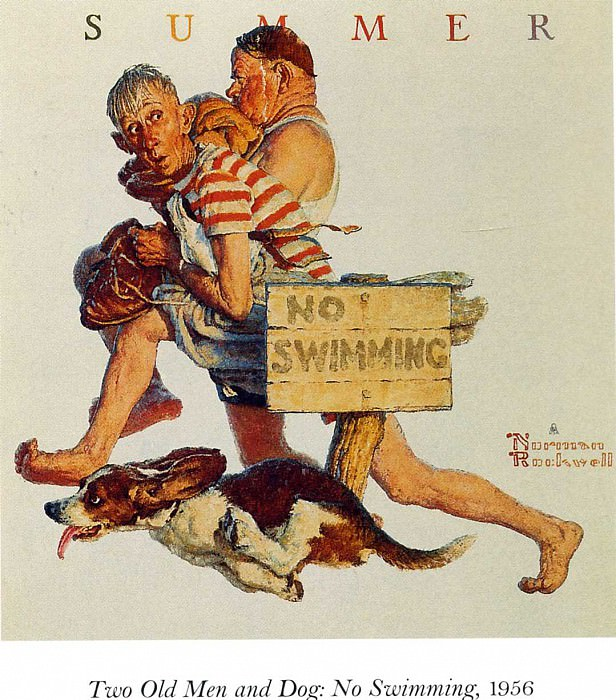 Image 428. Norman Rockwell