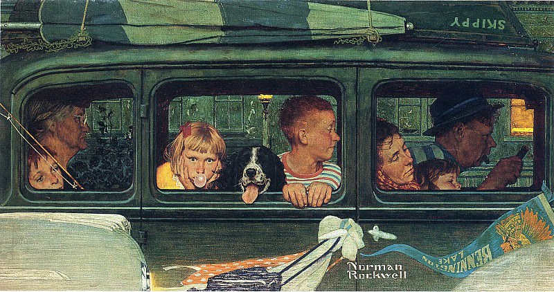 Image 382. Norman Rockwell