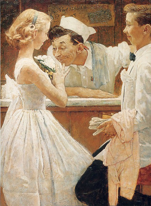 Image 422. Norman Rockwell