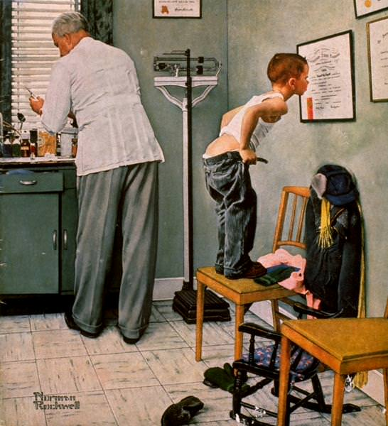 NR-DOCTR. Norman Rockwell