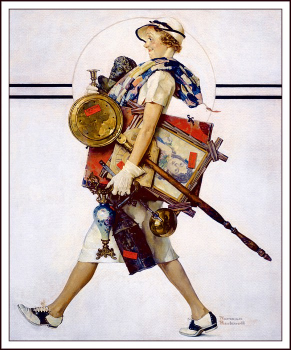 Saturday Evening Post- July1937. Norman Rockwell