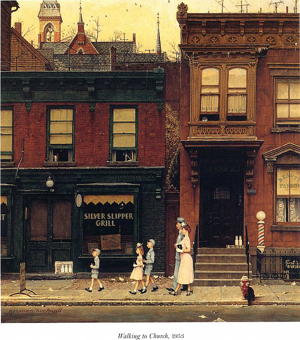 Image 438. Norman Rockwell