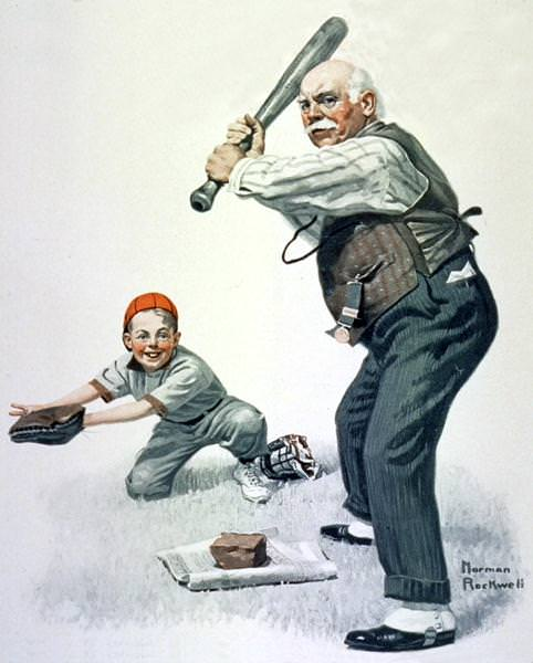 NR-BBALL. Norman Rockwell