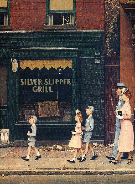 Image 430. Norman Rockwell