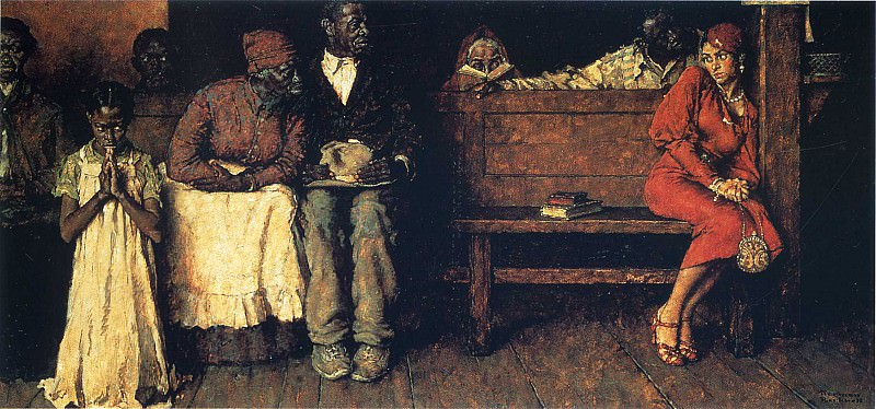 Image 377. Norman Rockwell
