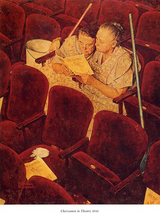 Image 369. Norman Rockwell