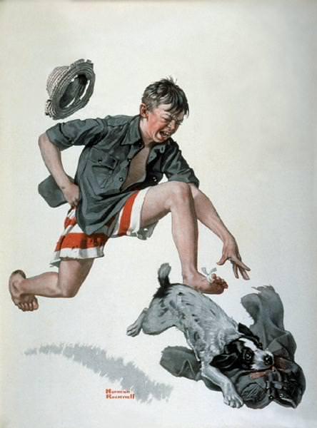 NR-PANTS. Норман Роквелл