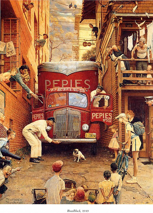 Image 434. Norman Rockwell