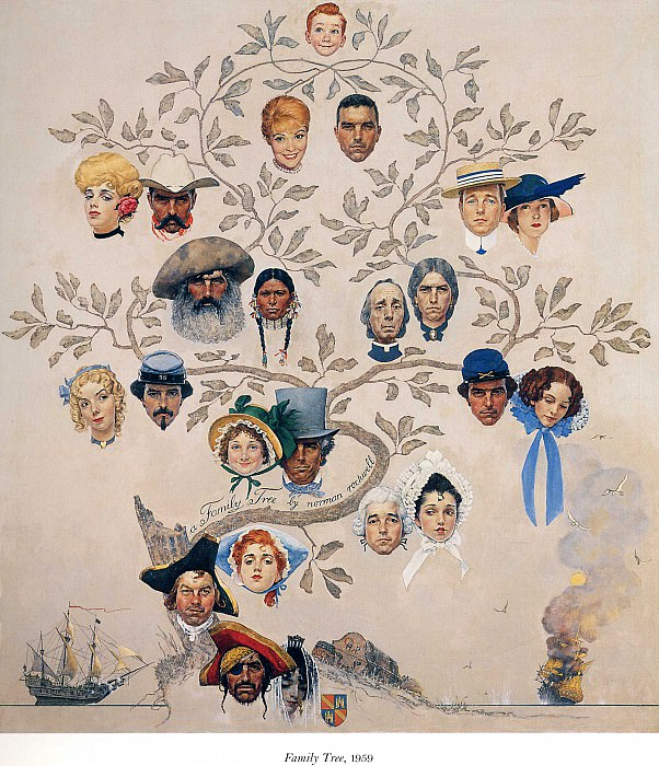 Image 402. Norman Rockwell