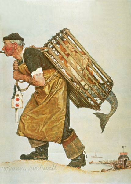 NR-FISH. Norman Rockwell