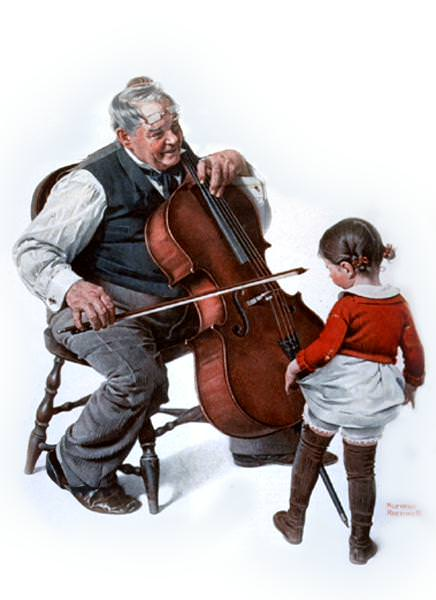 NR-CELLO. Norman Rockwell