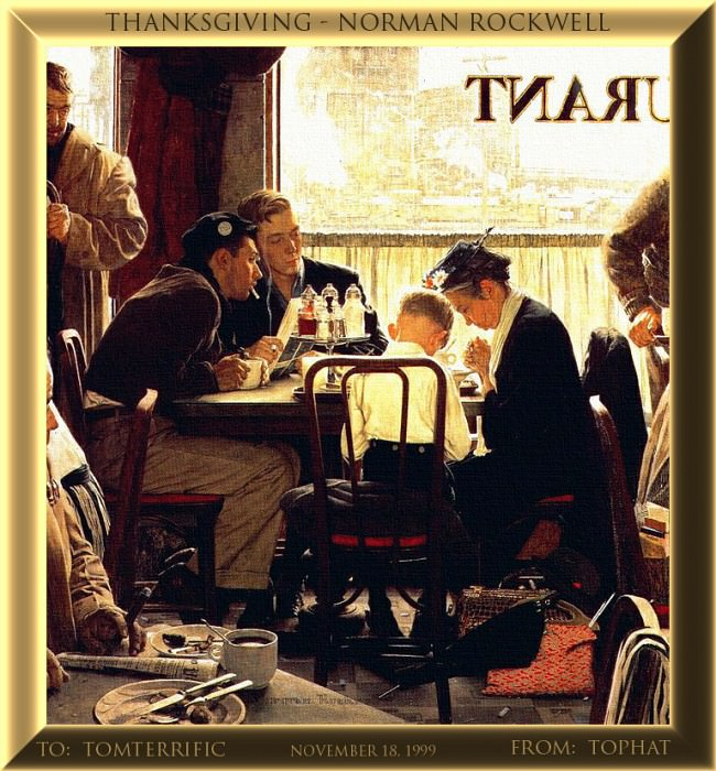 CU122-TopHat-Rockwell. Norman Rockwell