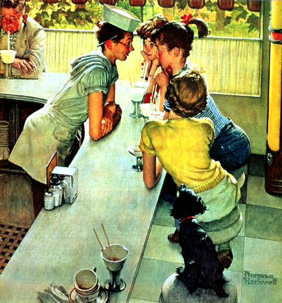 NR-FOUNT. Norman Rockwell