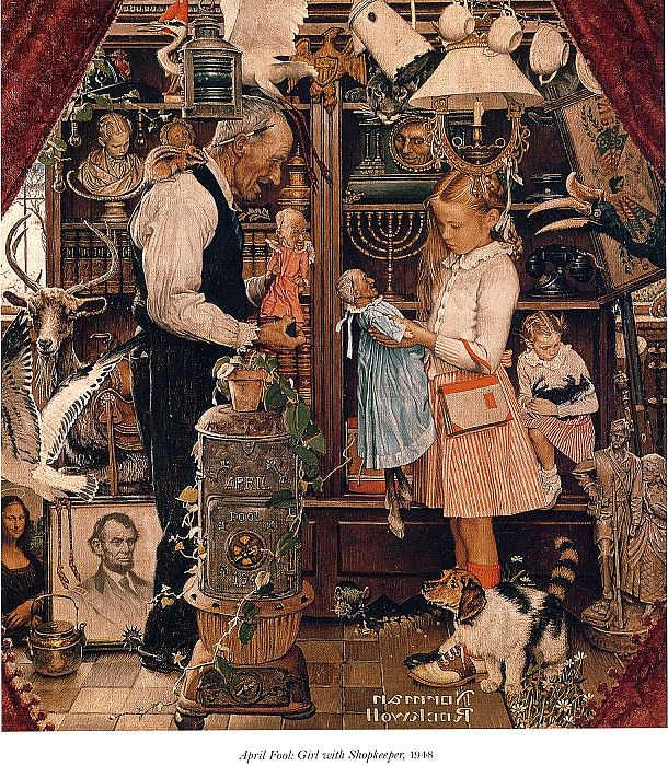 Image 410. Norman Rockwell
