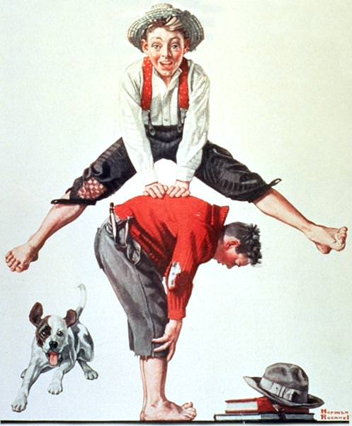NR-LEAP. Norman Rockwell