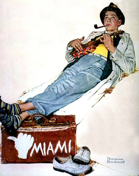 NR-MIAMI. Norman Rockwell