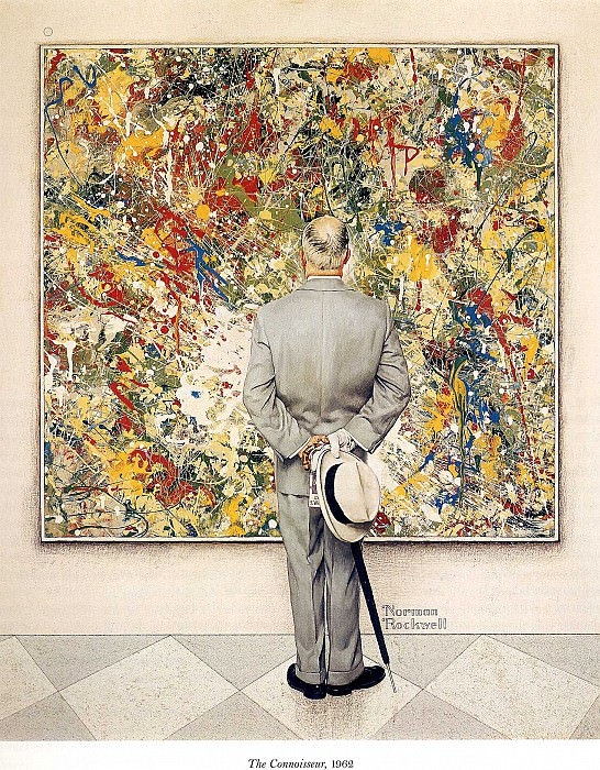 Image 414. Norman Rockwell