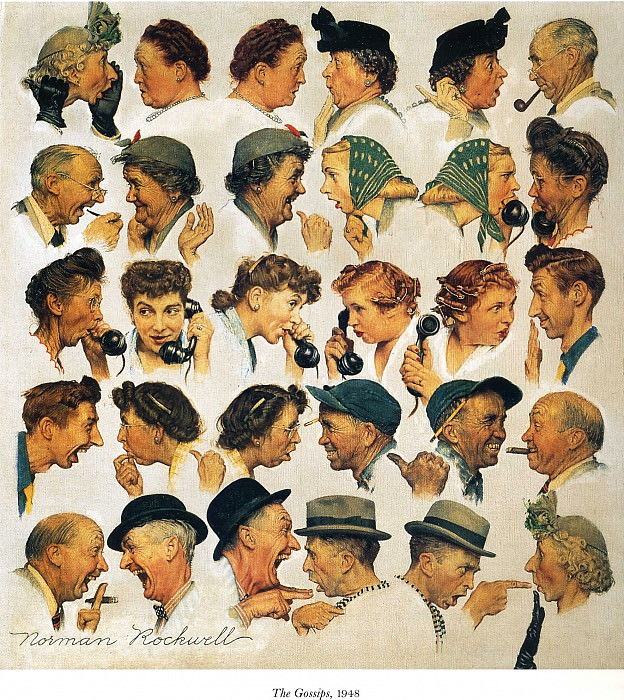 Image 449. Norman Rockwell