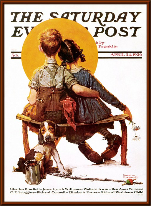 p nr cal2001 06. Norman Rockwell