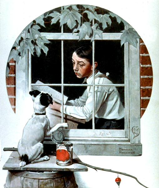 NR-WINDO. Norman Rockwell