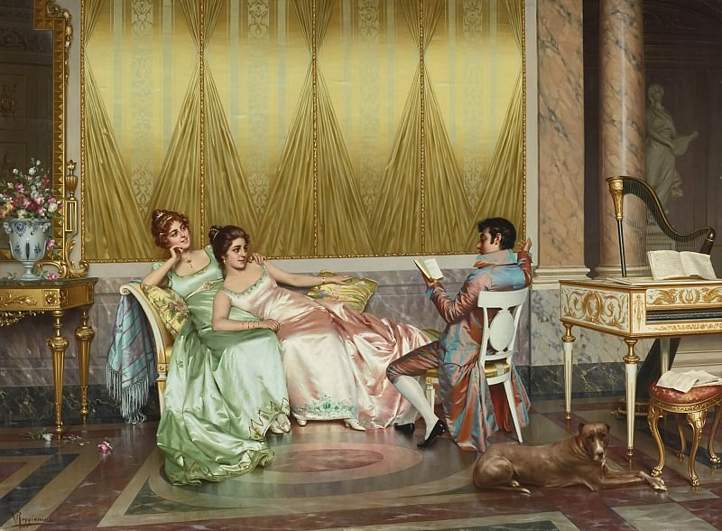 The Poetry Reading. Vittorio Reggianini