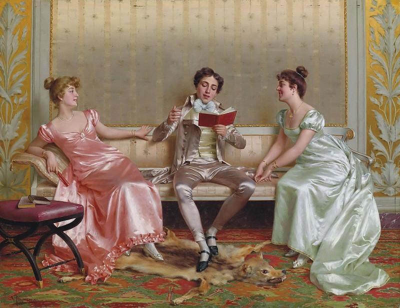 Чтение. Витторио Реджанини