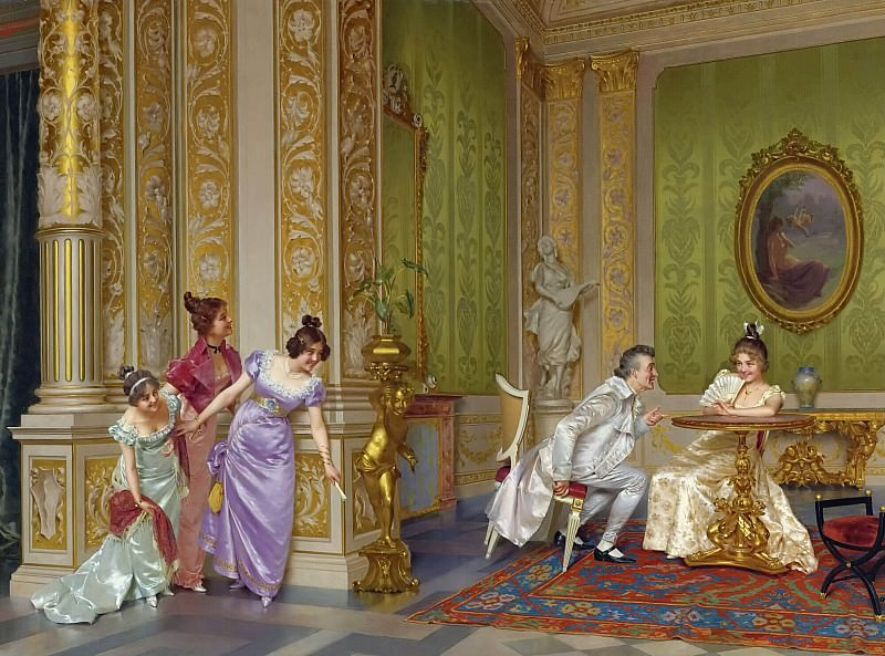 THE UNSEEN AUDIENCE. Vittorio Reggianini