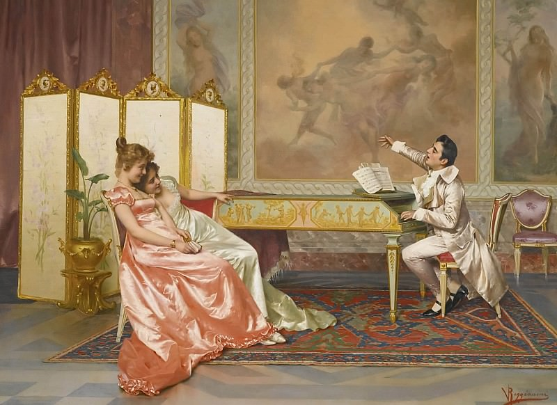 THE RECITAL. Vittorio Reggianini