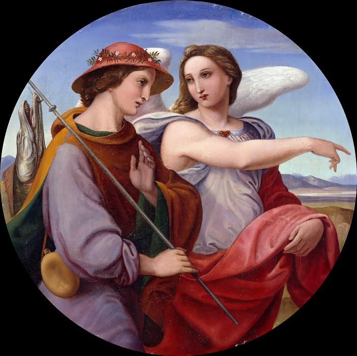 Товия и ангел. Теодор Ребениц