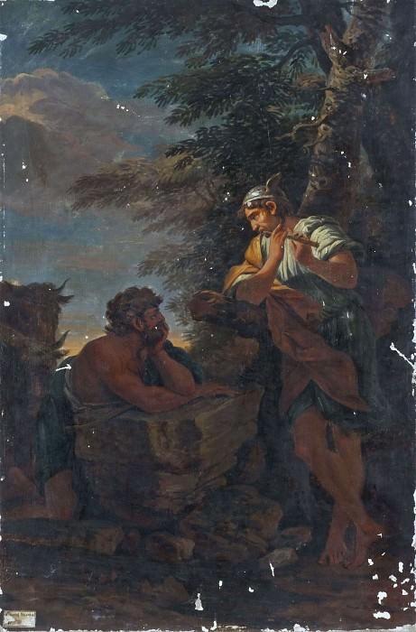 Меркур и Аргос. Сальватор Роза (Последователь)