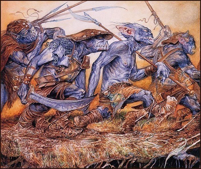 Orcs Of Udun. Omar Rayyan