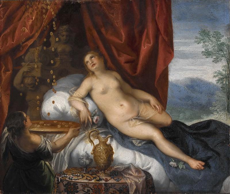 Danaë and the Shower of Gold. Hans Rottenhammer (Manner of)