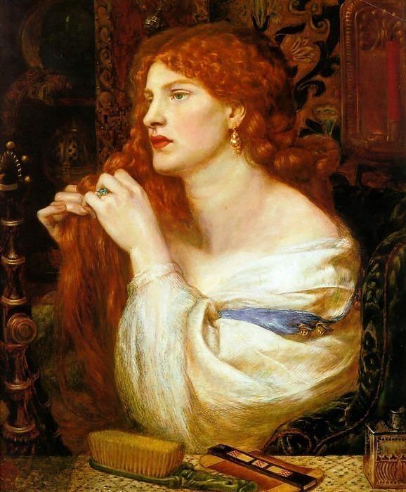 Fazios Mistress. Dante Gabriel Rossetti