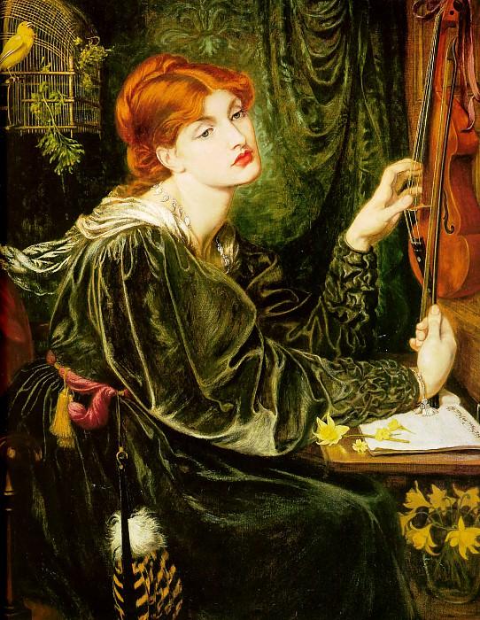Veronica Veronese. Dante Gabriel Rossetti