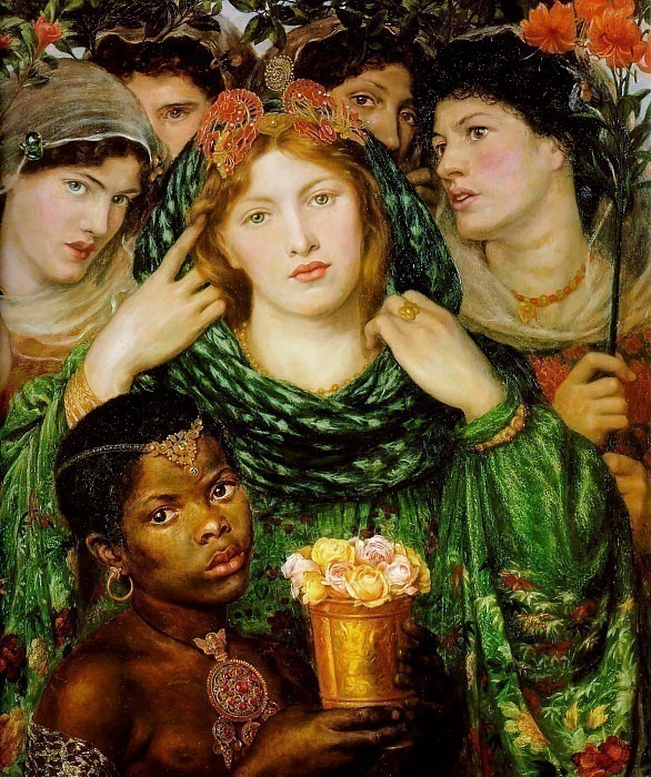 The Beloved. Dante Gabriel Rossetti