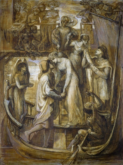 The Boat of Love. Dante Gabriel Rossetti