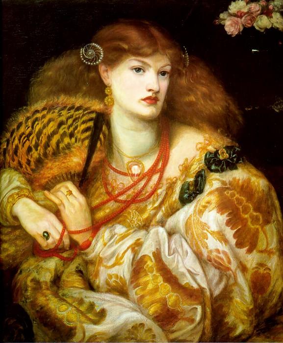 Mona Vanna. Dante Gabriel Rossetti