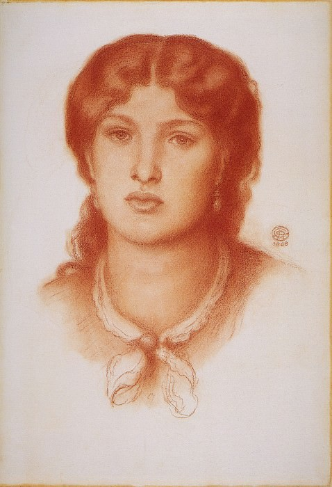 Rossetti Fanny Cornforth. Dante Gabriel Rossetti