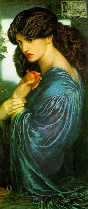 Proserpine. Dante Gabriel Rossetti