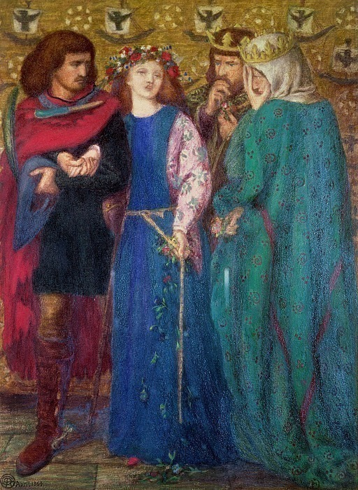 #41148. Dante Gabriel Rossetti