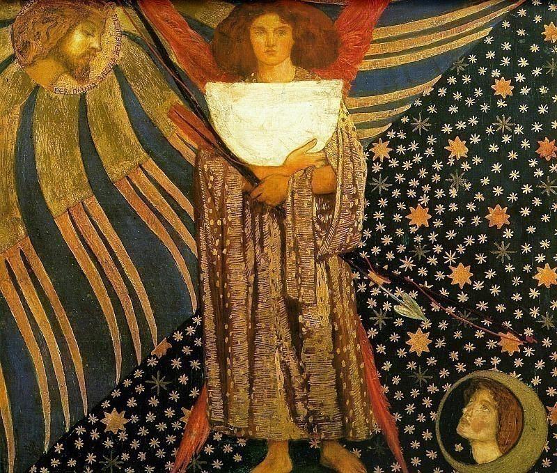 Dantis Amore. Dante Gabriel Rossetti