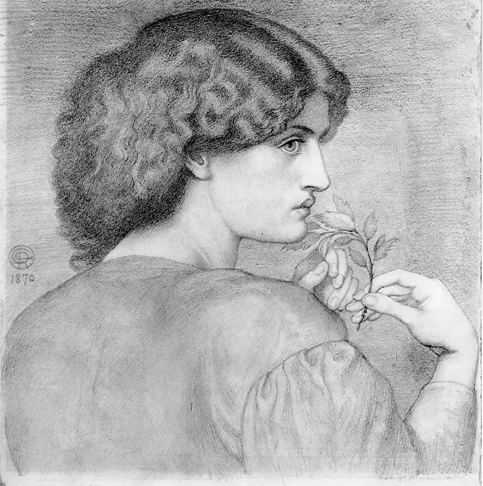 The Roseleaf. Dante Gabriel Rossetti