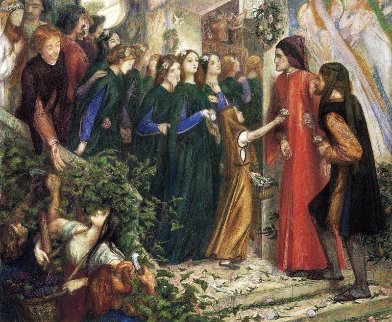 #41111. Dante Gabriel Rossetti
