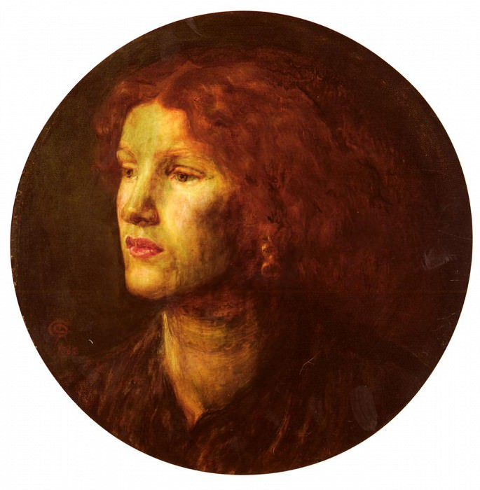 Rossetti Dante Gabriel Charles Fanny Cornforth. Dante Gabriel Rossetti