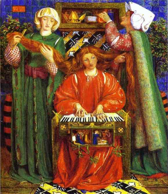 #41103. Dante Gabriel Rossetti