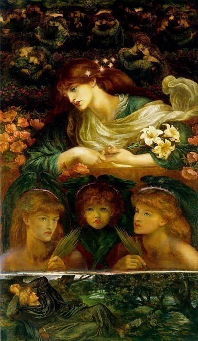 The Blessed Damozel. Dante Gabriel Rossetti