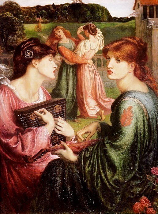 The Bower Meadow. Dante Gabriel Rossetti