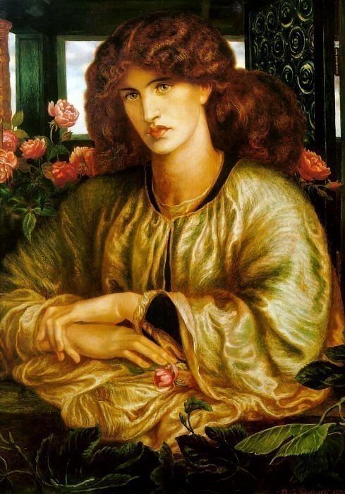 La Donna della Finestra. Dante Gabriel Rossetti